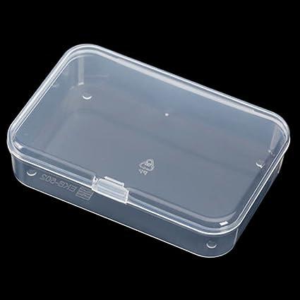 2 cajas de almacenamiento, de plástico portátil, para microondas y pequeños alimentos, con