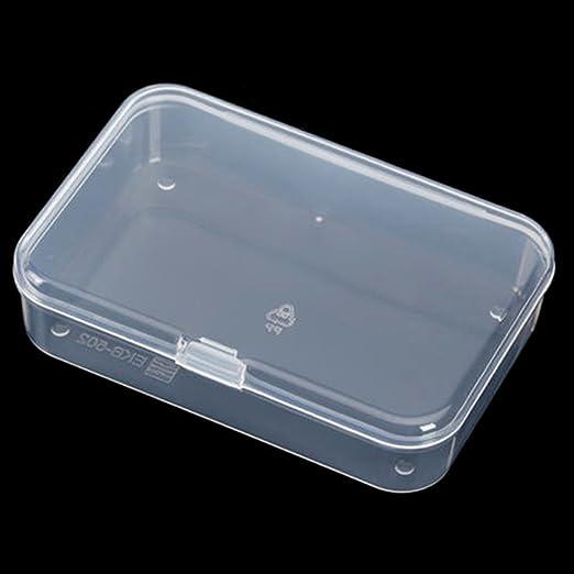 2 cajas de almacenamiento, de plástico portátil, para microondas y ...