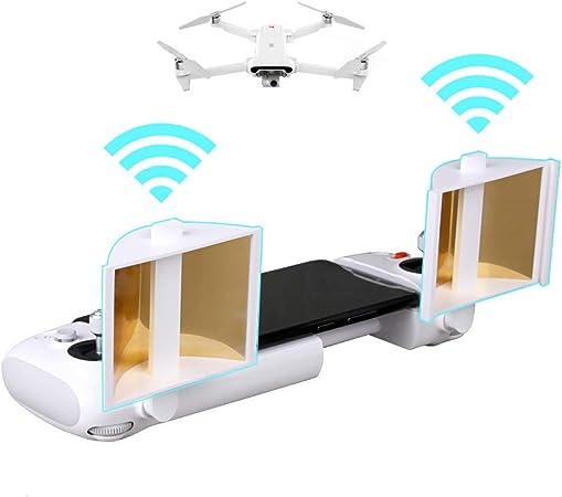 Hensych Control Remoto Antena Amplificador de señal Extensor de Alcance para FIMI X8 SE Drone,95% de reflectancia