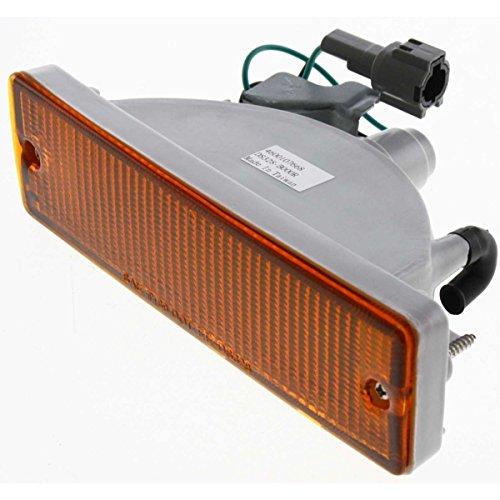 (Diften 114-A4239-X01 - New Turn Signal Light Corner Side Marker Park Lamp Passenger Right Hardbody)