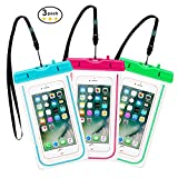 Waterproof Case, Universal Dry Bag Cell phone Floating pouch With Straps for iPhone 7 6S 6 Plus, iPhone 5S SE, Samsung Galaxy S8 S7 S6 Edge, Note 5 4 3, HTC One M8, M7, LG, Huawei, Sony