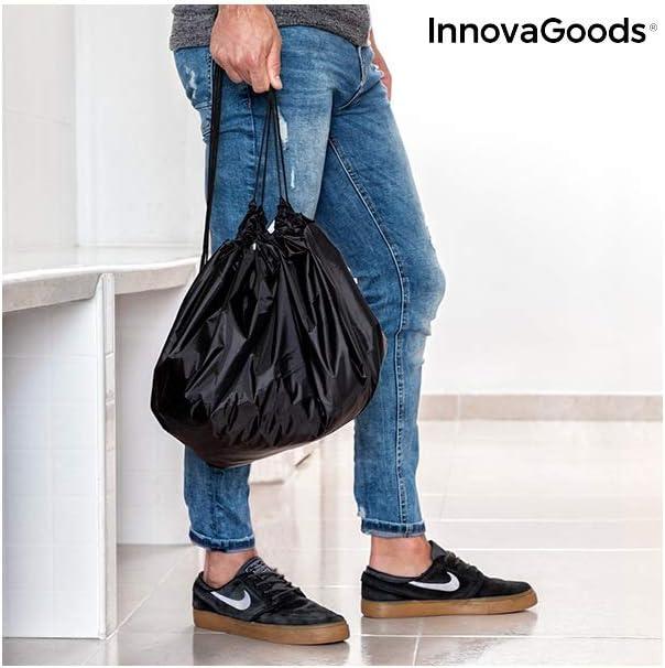 InnovaGoods Tapis pour v/êtements et Sac imperm/éable 2 en 1 Gymbag Adulte Unisexe