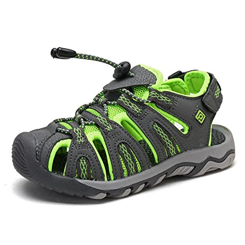 Image of DREAM PAIRS Boys & Girls Toddler/Little Kid/Big Kid 160912-K Outdoor Summer Sandals