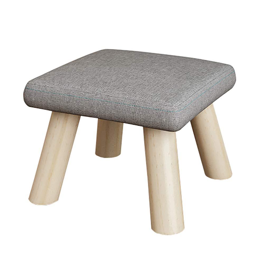 Char Kleiner Gepolsterter Hocker Stuhl Fußschemel Runde