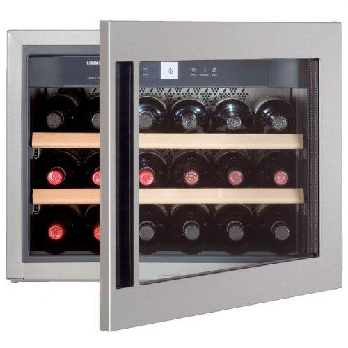 Liebherr PAL - WKEes 582 GrandCru Weinkühlschrank (Einbau) / A / 44, 7 cm / 18 flaschen Kühlteil/Bei Störung: akustisches und optisches Signal [Energieklasse A]