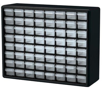 Storage Cabinet - Size: 64 Drawers