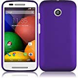 Super Purple Hard Case Cover Premium Protector for Motorola Moto E XT830C (by Straight Talk) with Free Gift Reliable Accessory Pen