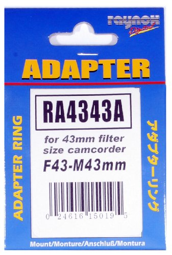 (Adapter ring F43-M43mm: for 43mm filter size)