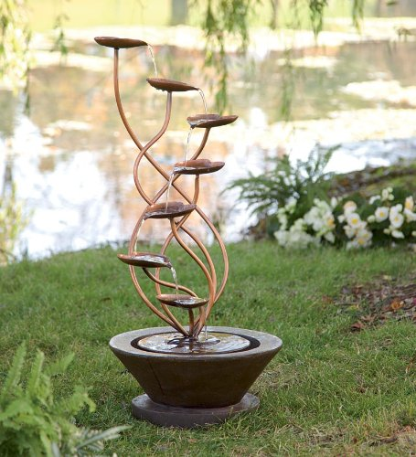 Large Bronze Leaf Fountain by Wind & Weather®