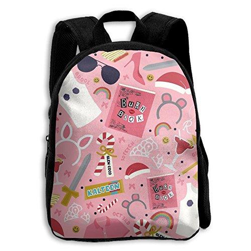Cute Emoji Suglasses Rainbow Juice Design Pink Kids Backpack School Bag Gift For Pre School - Suglasses