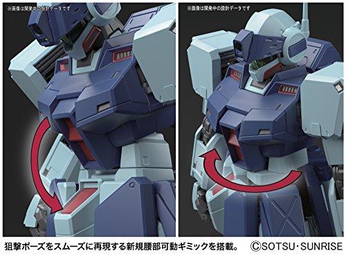 Bandai Hobby MG 1/100 GM Sniper II Gundam 0080 Action Figure by Bandai Hobby (Image #6)