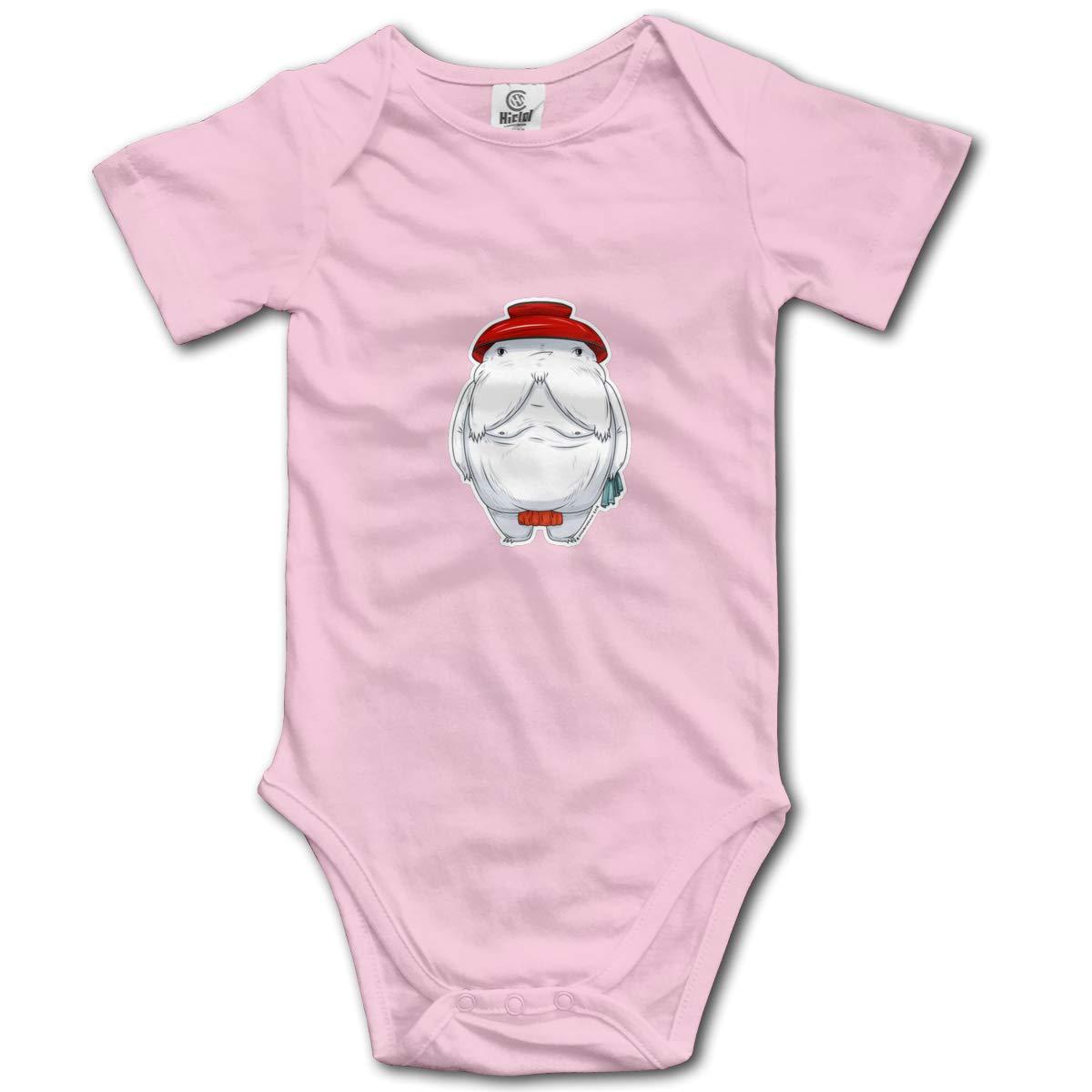 Coollifea Radish Spirit Baby Romper 0-18 Months Newborn Baby Girls Boys Layette Rompers Black