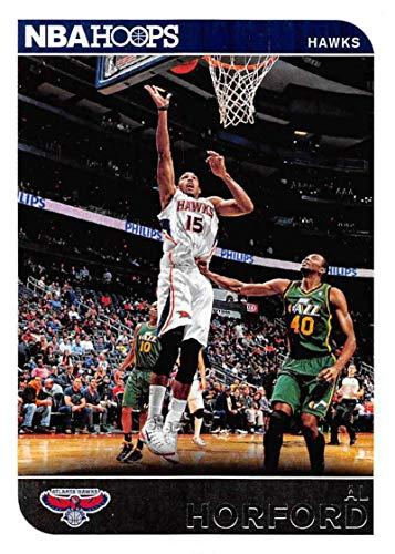 2014-15 Panini Hoops Basketball #1 Al Horford Atlanta Hawks Official NBA Trading Card ()