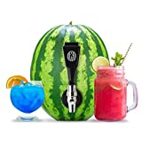 Watermelon keg tapping kit combo with premium coring tool great for cocktail parties use on pumpkin for Halloween party drink dispenser tap homebrew DIY