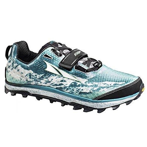 Altra Footwear Women's King MT Trail Running Shoe,Black/Teal,US 7.5 B