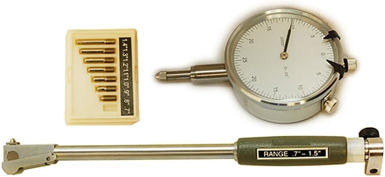 .0005/'/' Graduation Dial Indicator Bore Gage Set GRAD Gauge Engine Cylinder Hole
