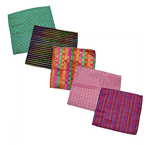 Ana'z Pocket Square Set of 5 Handkerchief Men's Fashion Multicolor Accessory by Ana'z (Image #1)