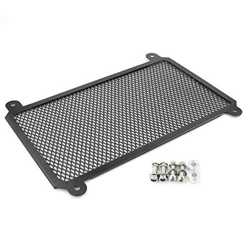For NINJA 400 Z400 NINJA 250 Z250 2018 2019, Aluminum Radiator Guard, Radiator Cover, Radiator Grille (Black)