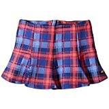 Tommy Hilfiger Girls Plaid Print Neoprene Skirt