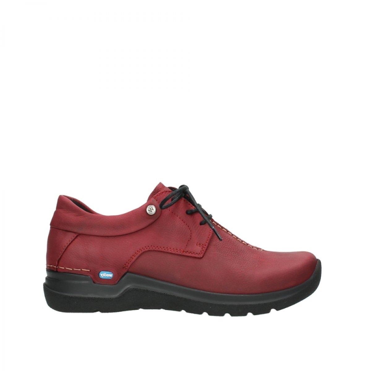 Wolky - Zapatos de Cordones para Mujer 37 EU|11530 Bordeaux Nubukleder
