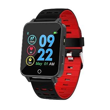 Reloj Inteligente con Actividad Bluetooth, rastreador de Ejercicios, Monitor de Ritmo cardíaco, monitoreo de Pasos, podómetro, Pulsera Inteligente, ...