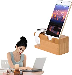 Charging Stand Holder for Iwatch & iPhone A Great Place to Keep Your Apple Watch