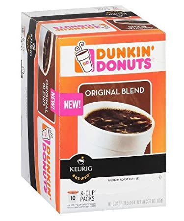 Dunkin Donuts Coffee KCups Original Blend Pack of 1 Amazoncom