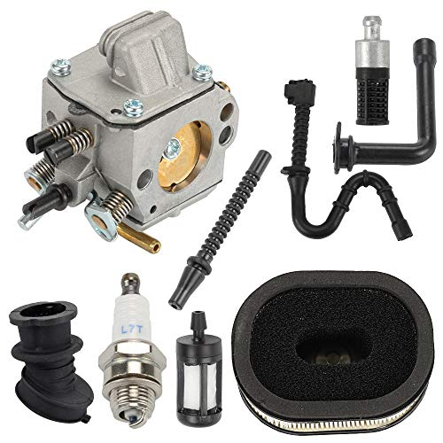 Hayskill MS460 Replacement Carburetor for Stihl 044 046 MS440 MS460 MS 440 460 Chainsaw Parts Carb Replace 1128 120 0625 with Air Fuel Filter Spark Plug Repower Kit