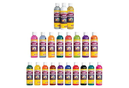 Colorations Liquid Watercolor (Colorations Liquid Watercolor Paint, Gold - 8 oz. (Item # LWGO))