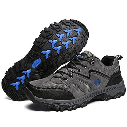 TORISKY Homme Femme Baskets Chaussures de Sports Course Fitness Running Shoes Respirantes Sneakers Bleu