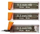 #6: 0.3 mm 360 lead refills for 0.3mm - Premium Mechanical Pencil Lead Refills