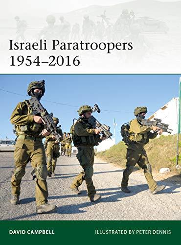 Israeli Paratroopers 1954?2016 (Elite Book 224)