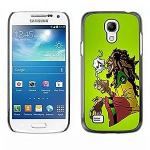 - Marijuana Kush Weed - - Slim Guard Armor Phone Case FOR Samsung Galaxy S4 MiniI9190 I9192 I9195 Devil Case