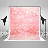 Kate 5x7ft / 1.5x2.2m Cotton Collapsible, Backdrops for Photography For Baby Pink Spot Fantasy Photo Background for Photographers, Studio Props Booth CM-6723