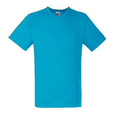 Fruit of the Loom Herren T-Shirt Valueweight V-Neck-Tee  Amazon.de   Bekleidung 4db7ba7c4b