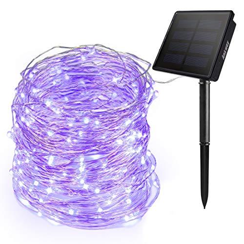 Purple Outdoor Solar Lights in US - 9