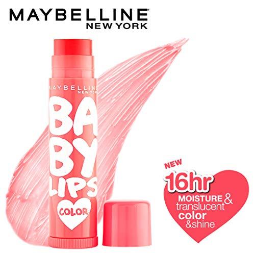 Maybelline New York Baby Lips Lip Balm, Cherry Kiss, 4g