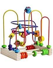 Fajiabao Giocattoli Rotolamento Bead Maze Roller Coaster