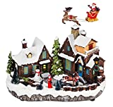 Cypress Home North Pole Christmas Village Miniature Lit Building