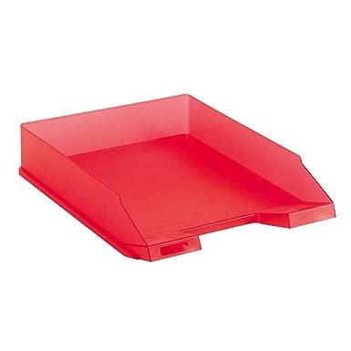5x Ablagekorb Briefablage transluzent hellgr/ün Farbe Briefkorb