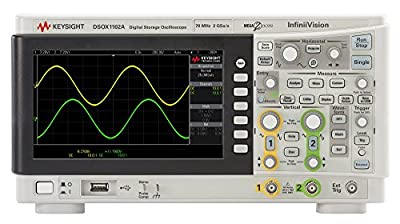 Keysight Technologies DSOX1102A Oscilloscope: 70 MHz, 2 Analog Channels
