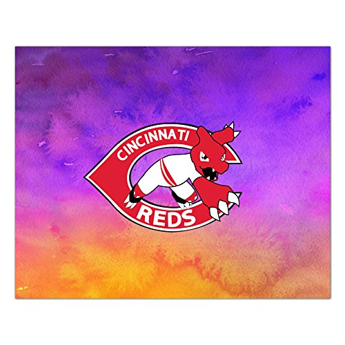 Kim Lennon C Reds Baseball High Quality Rectangular Table Cloths For Table Games Use Size 62*78inch White