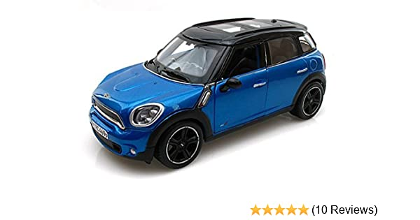 Mini Cooper Models >> Mini Cooper Countryman 1 24 Metallic Blue Maisto Diecast Models