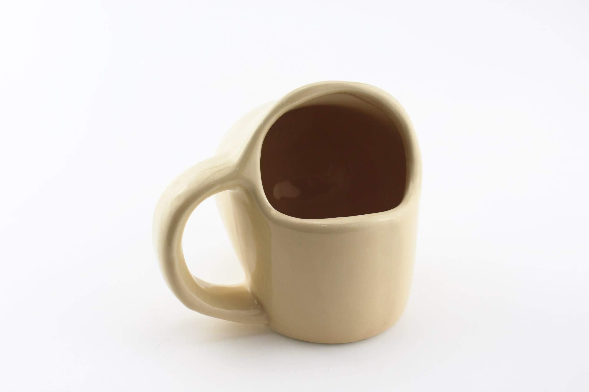 Boobie Boobs Mug Ceramic Coffee Cup Water Juice Cups (Boobs) by Est LLC (Image #4)