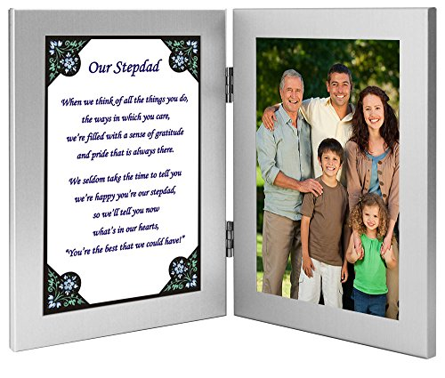 Stepdad Fathers Day Or Birthday Gift Touching Poem From Stepchildren