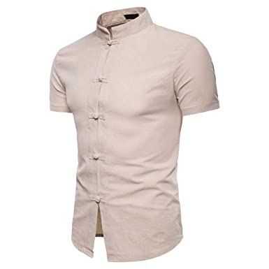 NRUTUP-Men Camisa de Trabajo Formal para Hombre, Informal, de ...
