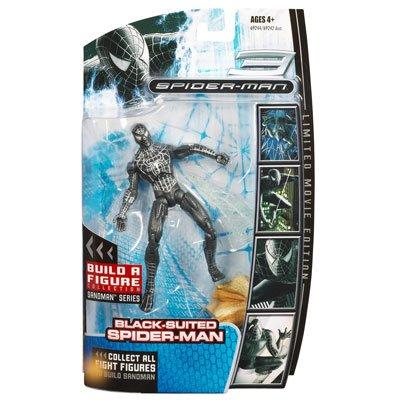 r-Man Movie Action Figure Black-Suit Spider-Man ()