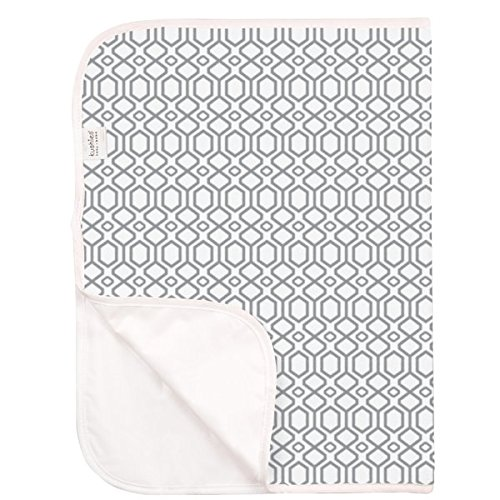 Kushies Baby Deluxe Terry Change Pad, Grey Octagon by Kushies