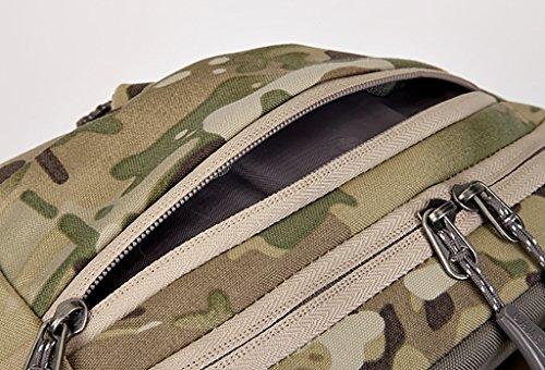zaino trekking Spalla sacchetto esterno 38L maschio e femmina Camouflage universale Viaggi Alpinismo Bag (52 * 29 * 17cm) Zaini da escursionismo