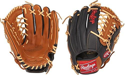 Rawlings P115GBMT-6/0 Prodigy Youth Baseball Glove, Regular, Modified Trap-Eze Web, 11-1/2 Inch (Soft Leather Baseball Glove)